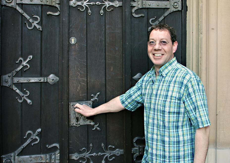 Dülken Profil: Thomas Wollschläger, Küster St. Cornelius