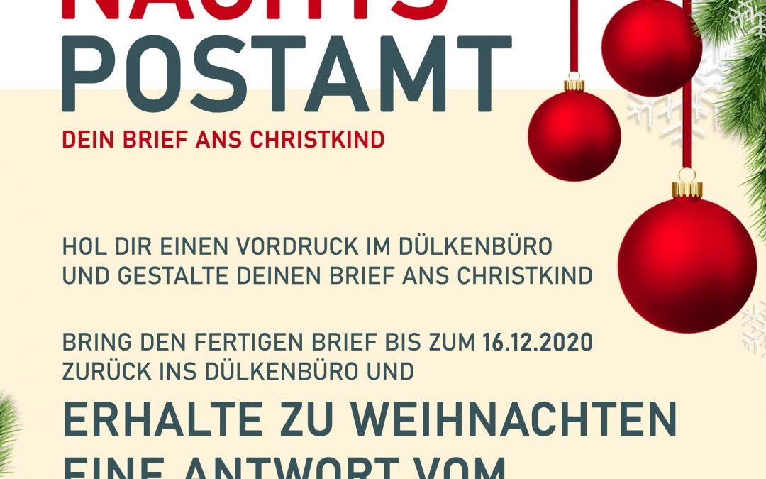 Das Dülkener Weihnachtspostamt öffnet wieder